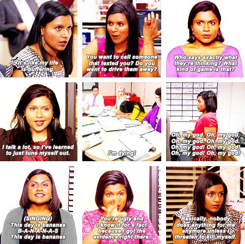 Image result for kelly kapoor quotes