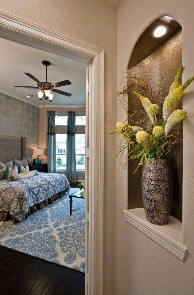 921 best decor wall ideas images on pinterest home for How to decorate an alcove in a wall