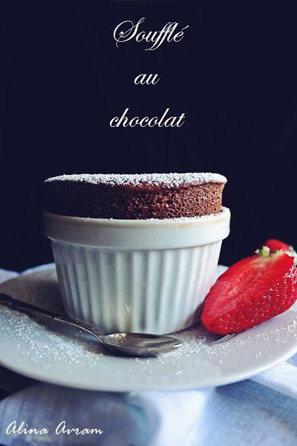 Chocolate souffle | Alina Avram's Blog