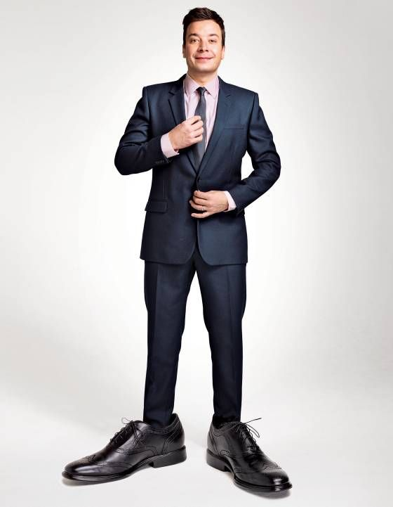 Here he comes --  Jimmy Fallon --  from Vulture
