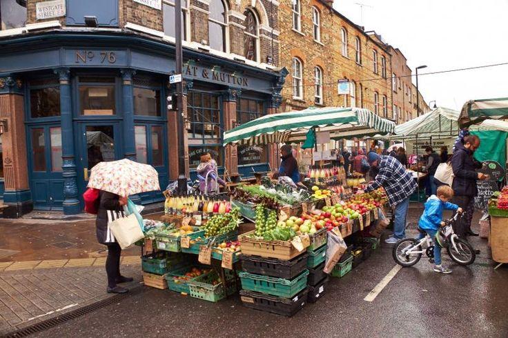5 anderledes markeder i London du skal besøge