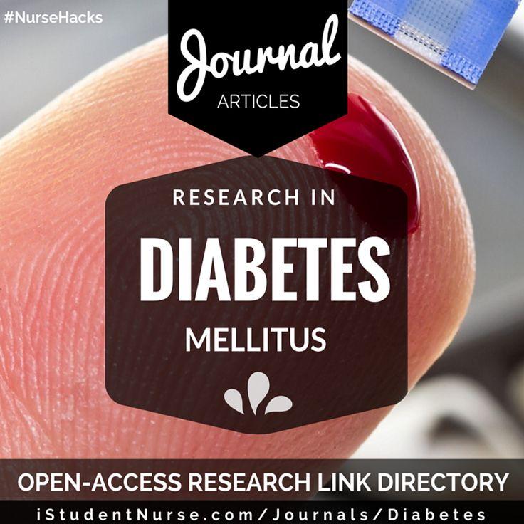 nursing analysis content in diabetes
