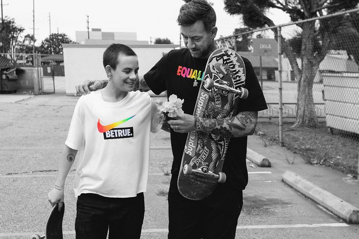 Nike SB's Brian Anderson & Lacey Baker Discuss Skateboarding, the LGBT Community & More