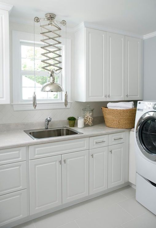 1000 ideas about white laundry rooms on pinterest laundry room design small laundry and. Black Bedroom Furniture Sets. Home Design Ideas