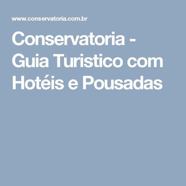 Conservatoria - Guia Turistico com Hotéis e Pousadas