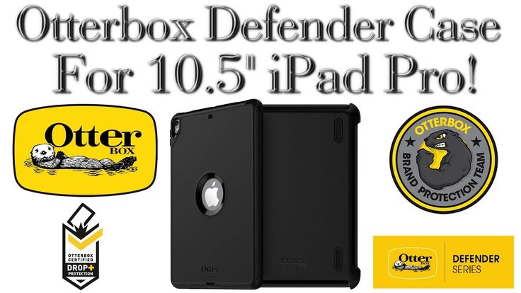 """Otterbox Defender Case For 10.5"""" Apple iPad Pro! [Review]"""
