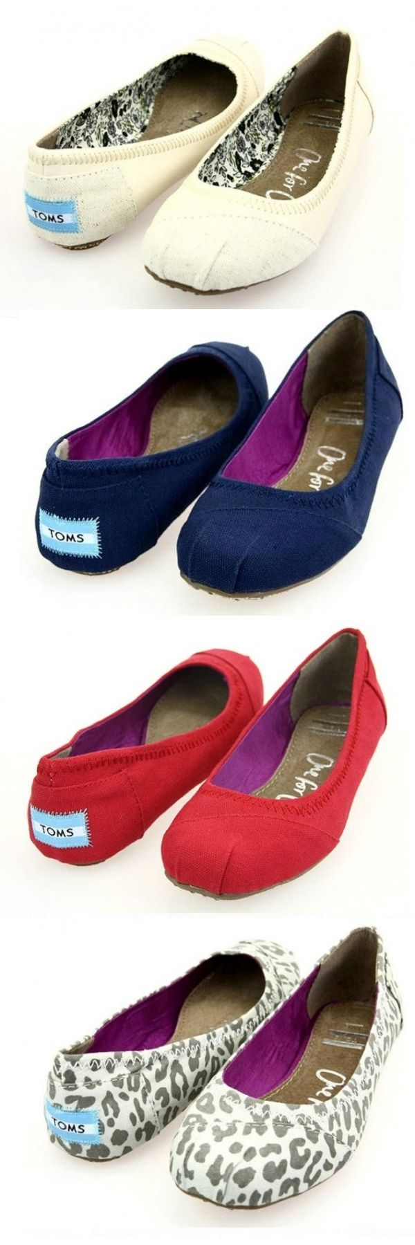$19 toms flats they are so cute