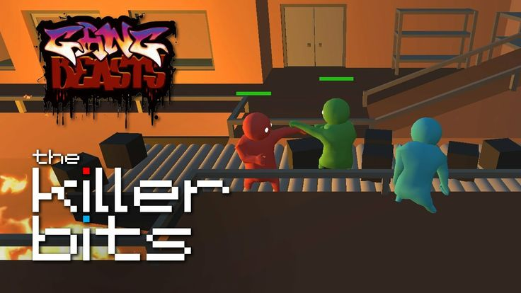 The fighting jelly babies are back. Time for Round 2 of Gang Beasts. (This time the guys take on Trucks and Fran turns into some sort of maniacal dictator in Incinerator). #GangBeasts