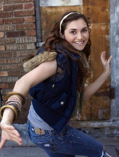 Alyson Stoner Flying Forward Photoshoot