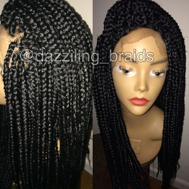 Crochet Box Braids Wig : ... Bomb Hairstyles, Lace Wigs, Braided Wigs, Hairstyles Hair, Braid Wig