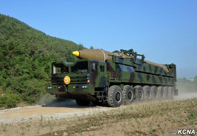 Hwasong-14 launch July 4, 2017