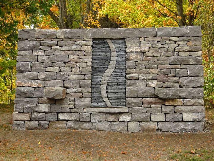 Dry Stone Pillar : Best stone walls pillars images on pinterest rock