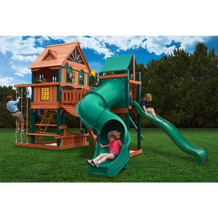 woodridge ii swing set by backyard discovery 1