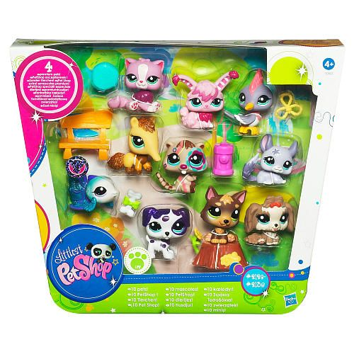 lps sets | Littlest Pet Shop Ultimate Pet Collection has 10 toy pets for your pet ...