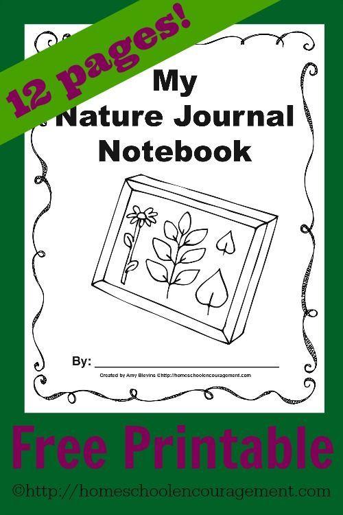 free nature journal printables encouraging moms at home nature journal homeschool nature study. Black Bedroom Furniture Sets. Home Design Ideas