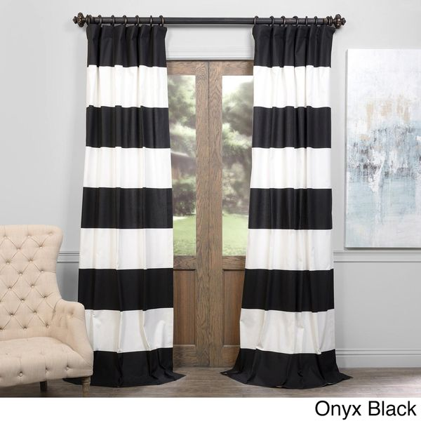 Exclusive Fabrics Cabana Cotton 108 Inch Horizontal Stripe