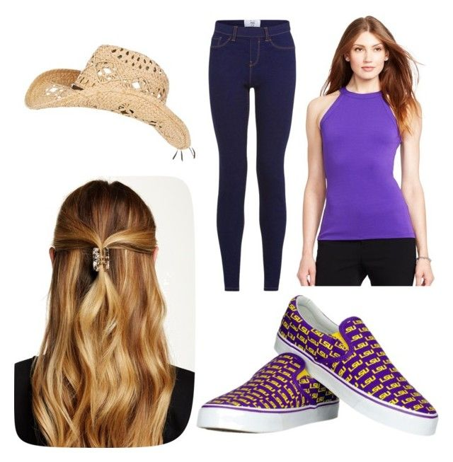 Ellie's performance outfit by aniarkdk on Polyvore featuring polyvore, fashion, style, Lauren Ralph Lauren, Row One, Natasha Accessories and clothing