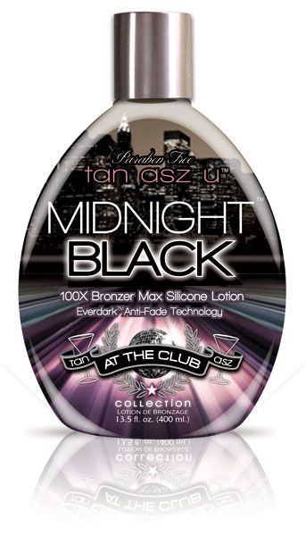 2 Tan Asz U Midnight Black 100x Bronzer Tanning Lotion