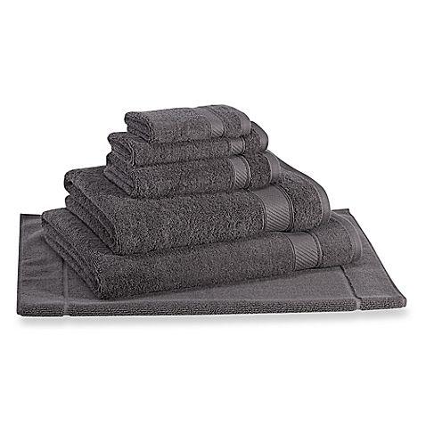 Wamsutta® Hygro® Duet Hand Towel in Iron