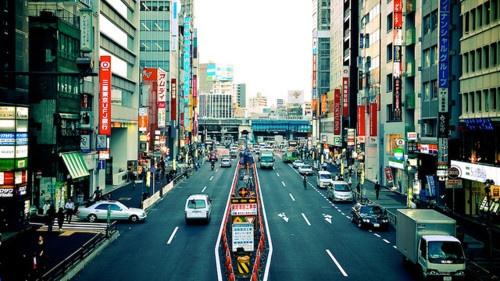 明治道り, 東京