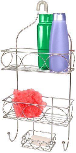 15 best awesome inventions images on pinterest home ideas kitchen storage and kitchen - The basics about shower caddies ...