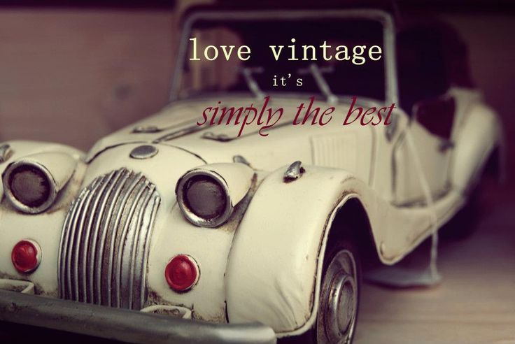 Lover vintage it's simply the best!