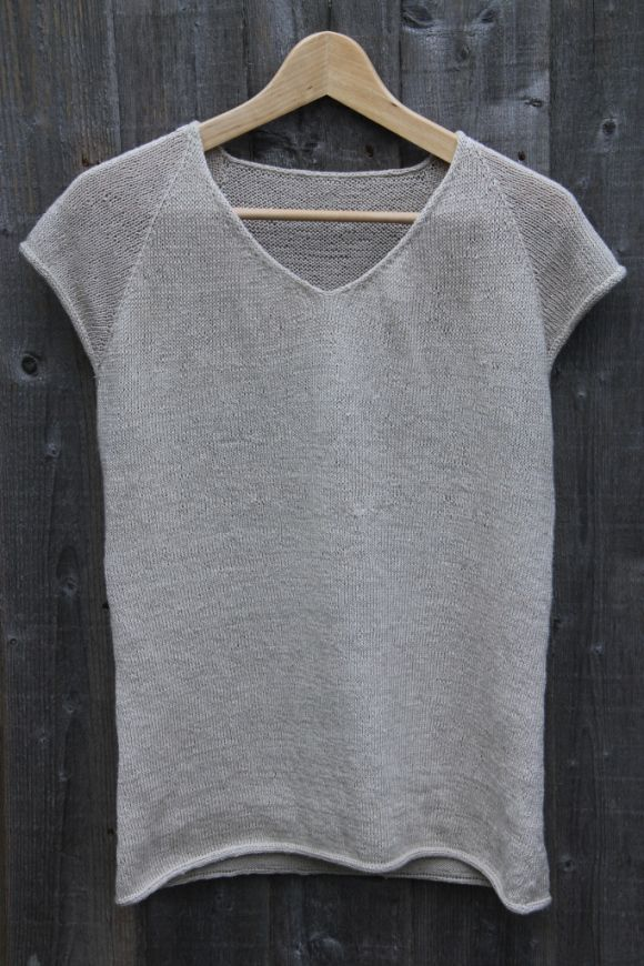 Knitted Linen T-shirt