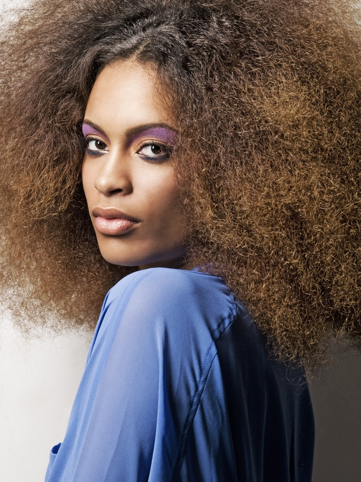 Dutch singer Nicole Bus with her beatifull natural hair ...