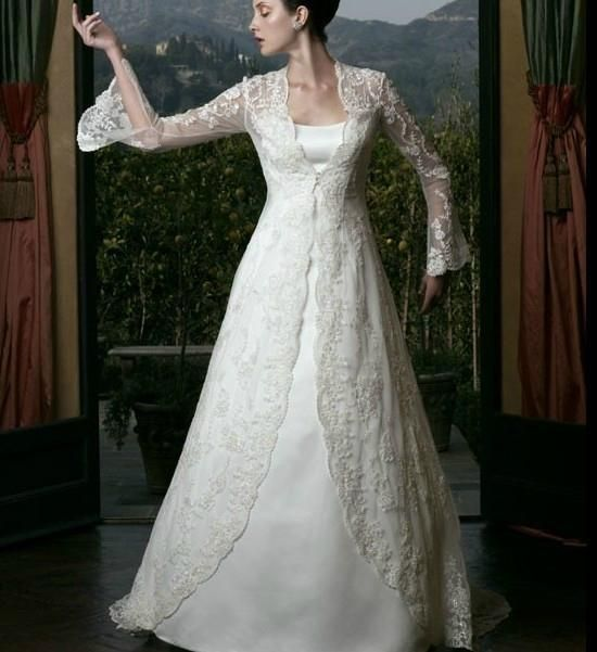 Vintage Wedding Dresses Bay Area: Coats, Lace And