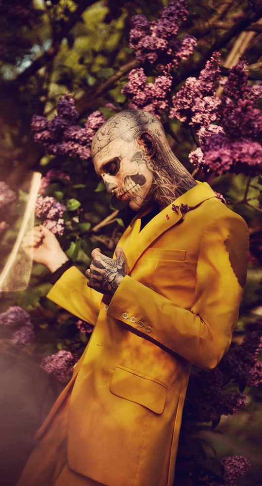 Floral Zombie Editorials : fashion magazine
