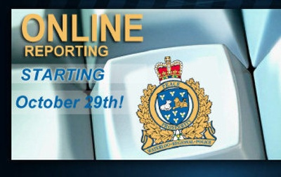 The new reporting service allows residents to submit reports of non-emergency crimes through the police website. The online reports will be processed just as those filed by police officers, through the police service's records management system.