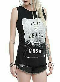 I Lust My Heart In The Music! Traduccion: Tengo Lujuria Mi Corazon En La Musica! Perdon Si Lo Traduci Mal! Saludos!