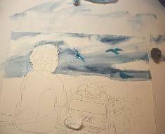 Judith Stein Watercolors - Sky & Clouds