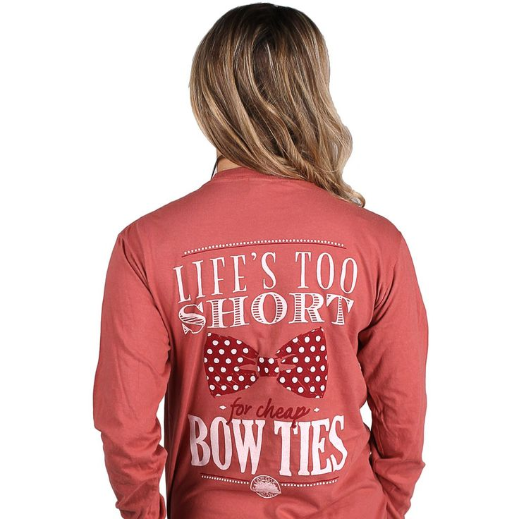 Life is too short for cheap bow ties...or bad tee shirts.  This tee features neither.  Learn to appreciate the finer things.