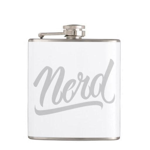 Nerd Flask #Nerd #lettering #LetterHype