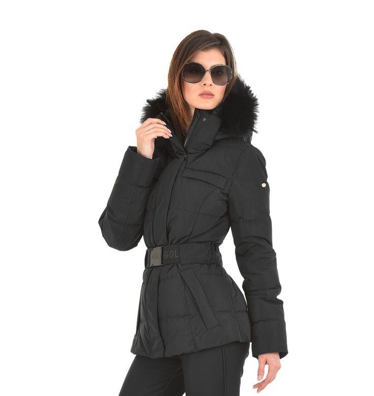 nice ski outfit black jacket 8