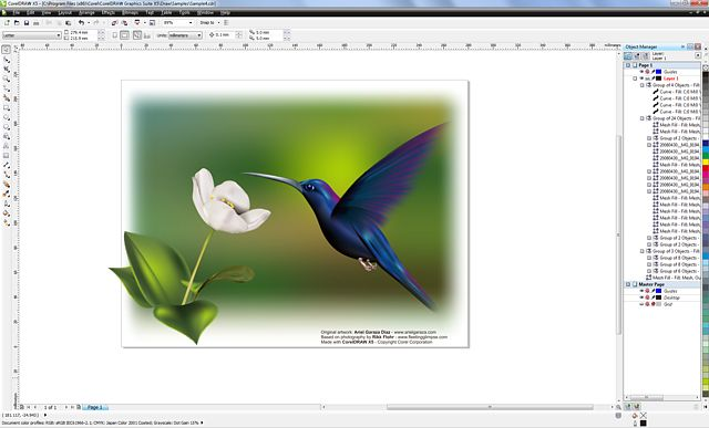 CorelDRAW X5 Screenshots