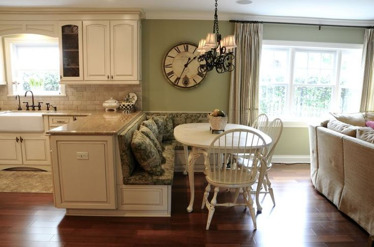 84 best images about raised ranch ideas on pinterest for Kitchen island booth