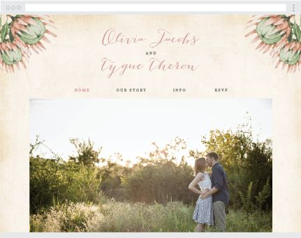 A Simple Affordable Wedding Website Builder By Victoria Rose