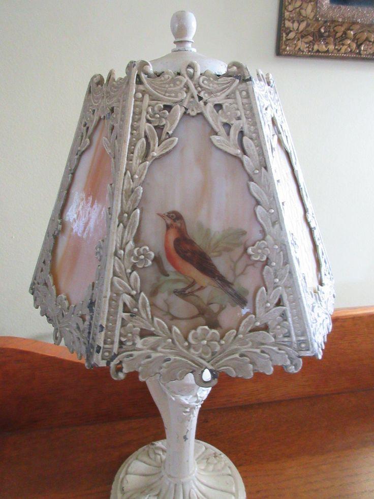 247 Best Antique Slag Glass Lamps Images On Pinterest Glass Lamps Antique Lamps And Lamp Light