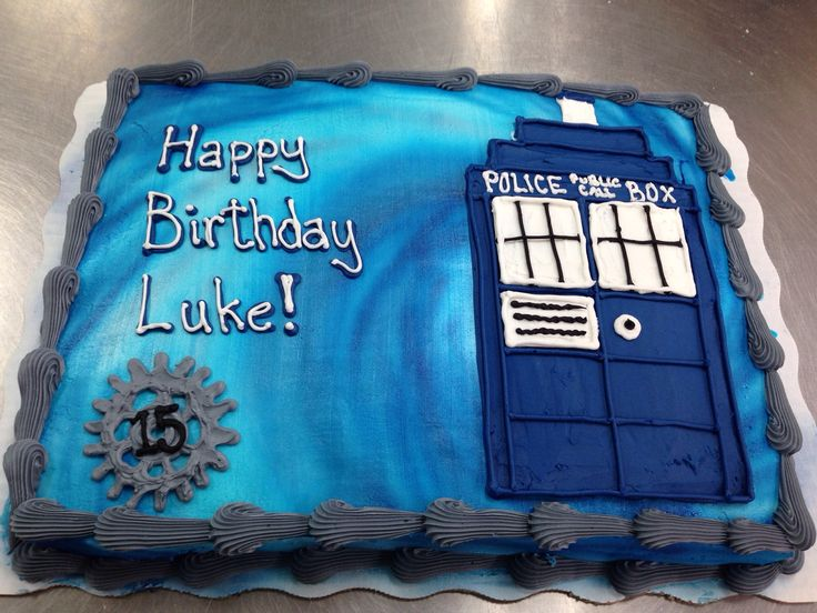 169 best Cakes Dr Who Tardis images on Pinterest Tardis cake
