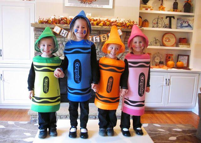 Crayon halloween costumes