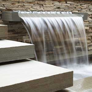 Modern Water Features | Don't Just Jump into a Water Feature | Pools, Ponds & Fountains | Yard ...