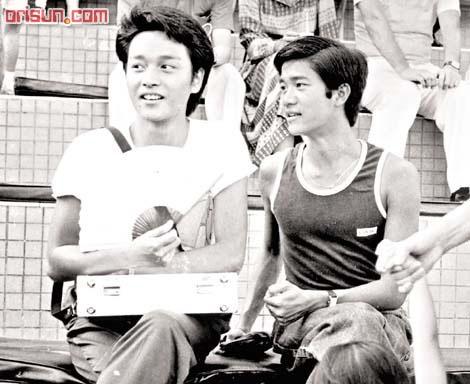 Leslie Cheung & Danny Chan. Thank you @Gina Gab Solórzano Gab Solórzano Yeung... so young and beautiful