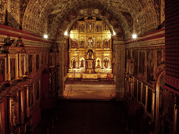 Santa Clara church. Bogota, Colombia
