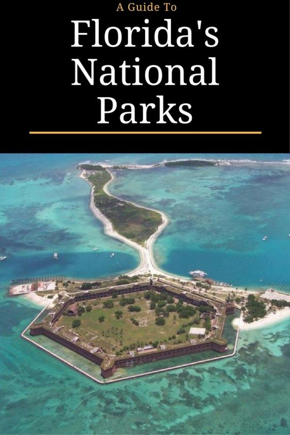 Florida National Parks guide in honor of the National Park Service Centennial.