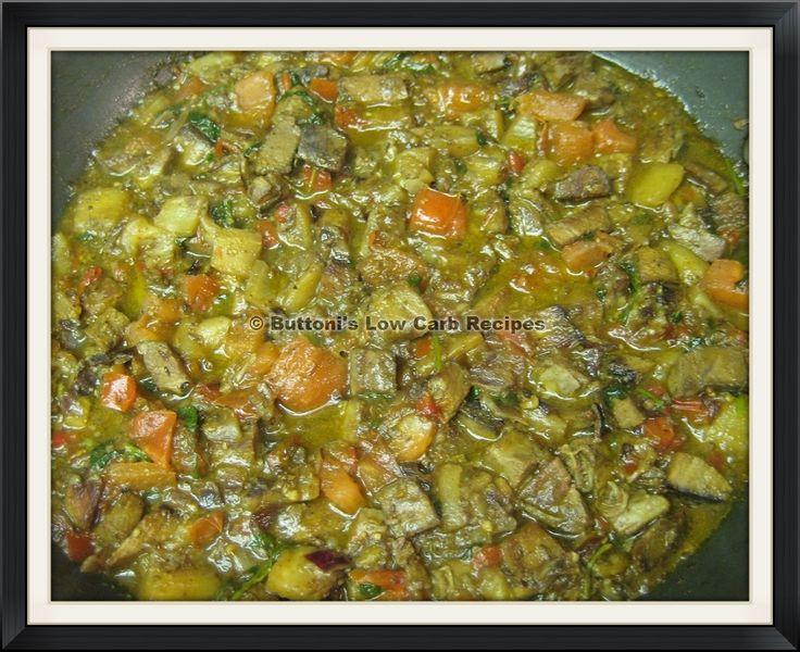 Beef-Eggplant Curry
