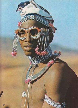 Xhosa beadwork.