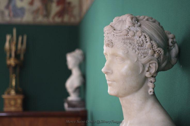 Buste de l'Impératrice Joséphine - Château de Malmaison.
