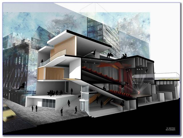 Students Searching For Online Course In Architectural Drafting Found The Following Reso Architecture Design Architectural Design Magazine Architectural Section